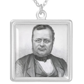 The Drawing-Room Portraits of Emminent Silver Plated Necklace