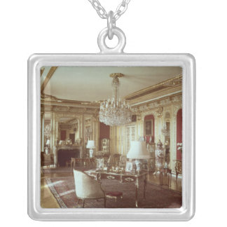 The Drawing Room Silver Plated Necklace