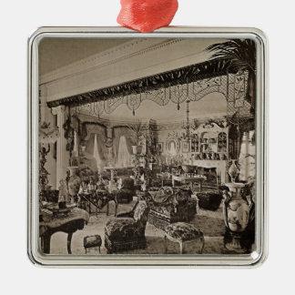 The Drawing Room, Wickham Hall, Kent, 1897 Christmas Ornament