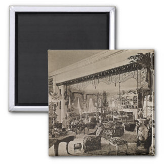 The Drawing Room, Wickham Hall, Kent, 1897 Magnet