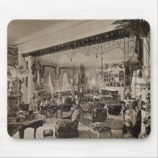 The Drawing Room, Wickham Hall, Kent, 1897 Mouse Mat