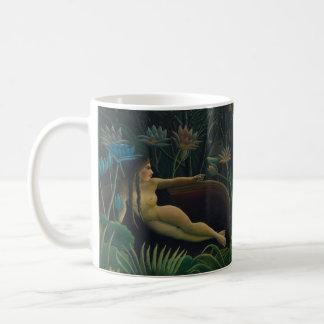 The Dream by Henri Rousseau, Vintage Impressionism Coffee Mug