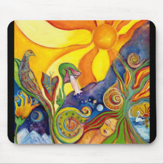 The Dream Fantasy Art  Modern Psychedelic Surreal Mouse Mat