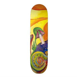 The Dream Fantasy Modern Folk Art Alice Wonderland Skate Deck