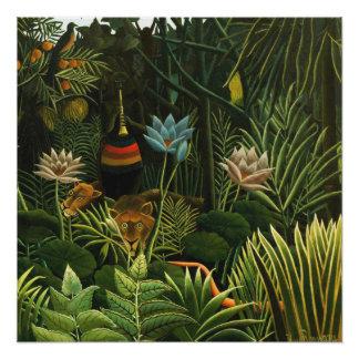 The Dream, Henri Rousseau Fine Art Poster