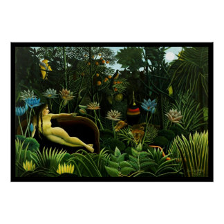 The Dream- Henri Rousseau Poster