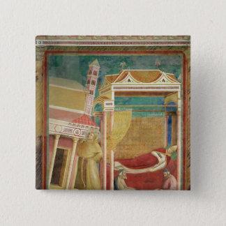 The Dream of Innocent III, 1297-99 15 Cm Square Badge