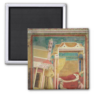 The Dream of Innocent III, 1297-99 Square Magnet