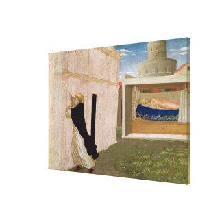 The Dream of Innocent III Canvas Print