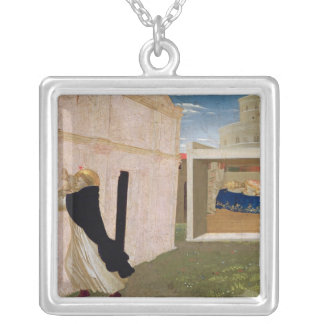 The Dream of Innocent III Silver Plated Necklace