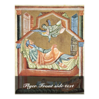 The Dream Of Joseph By Meister Des Perikopenbuches Full Color Flyer