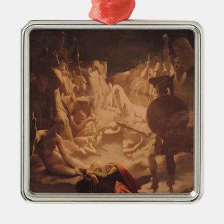 The Dream of Ossian, 1813 Christmas Ornament