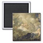 The Dream of Solomon, c.1693 (oil on canvas) Magnet
