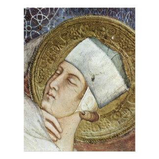 The Dream Of St. Martin  By Simone Martini 21.5 Cm X 28 Cm Flyer
