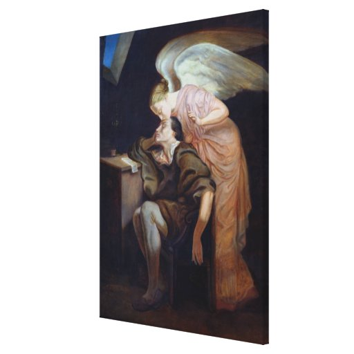 The Dream of the Poet Stretched Canvas Prints