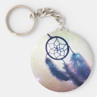 The Dreamcatcher Basic Round Button Key Ring
