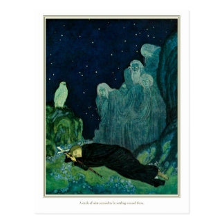 The Dreamer of Dreams: A Circle of Mist Postcard