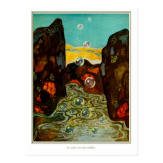 The Dreamer of Dreams Miraculous Bubbles Postcard