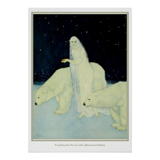 The Dreamer of Dreams: White, Glistening & Shining