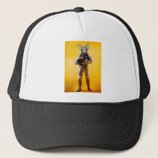 the dreamer yellow trucker hat