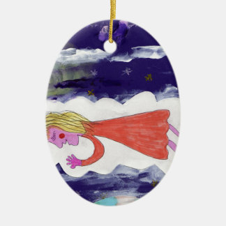 The Dreaming Child Christmas Ornament