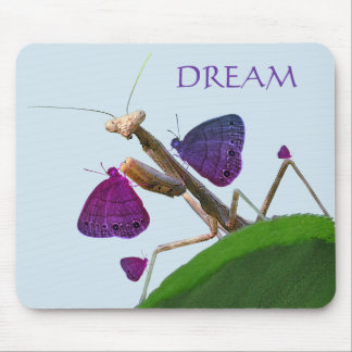The Dreaming Mantis Mouse Pad