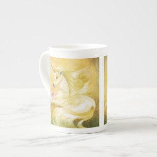 The Dreamy Golden Unicorn Bone China Mug