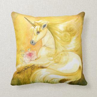 The Dreamy Golden Unicorn Cushions