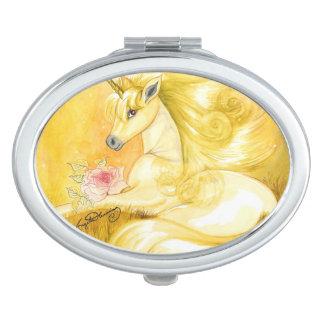 The Dreamy Golden Unicorn Makeup Mirror