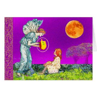 The Dreidel Fairy Hanukkah Card