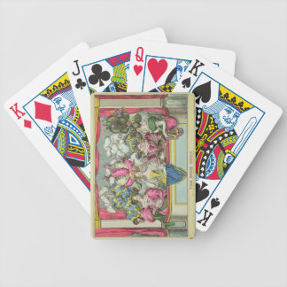The Dress Circle, published by Thomas McLean, Lond Bicycle Playing Cards