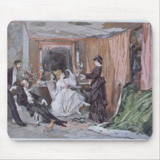 The Dressing Room of Hortense Schneider Mouse Mat