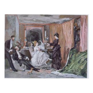 The Dressing Room of Hortense Schneider Postcard