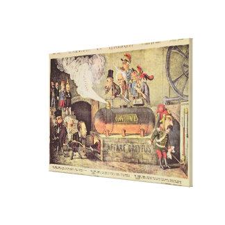 The Dreyfus Affair Canvas Print