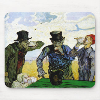 The Drinkers by Vincent van Gogh 1890 Mouse Pad