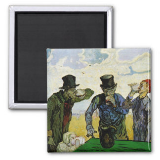 The Drinkers by Vincent van Gogh Magnets