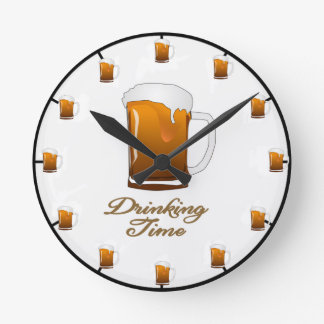 The 'Drinking Time' Beer Clock