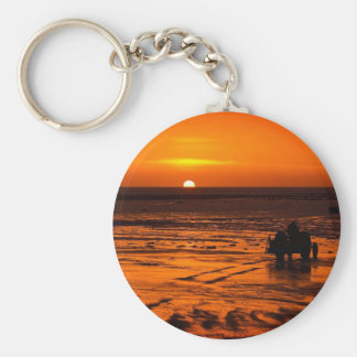 The Drive to work Basic Round Button Key Ring