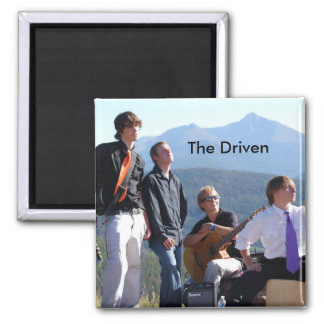 The Driven -  band -Magnet Square Magnet