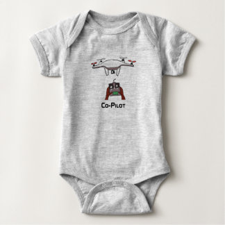 The drone co-pilot baby onsie jumpsuit