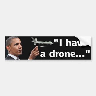 The Drone Warrior Bumper Sticker