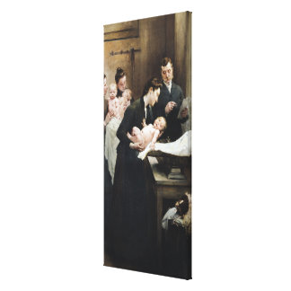 The Drop of Milk in BellevilleDoctor Variot's Canvas Print