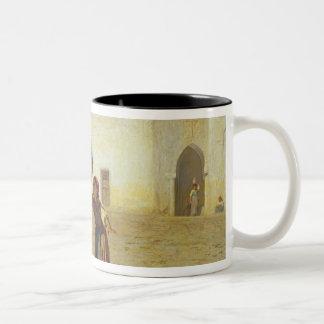 The Drum Beater, 1867 Two-Tone Coffee Mug