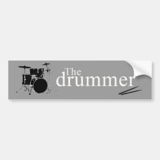 The drummer bumper stickers