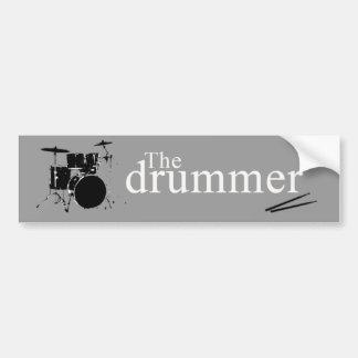 The drummer bumper stickers