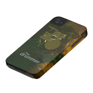 the drummer cool design iPhone 4 cases
