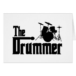 The Drummer Greeting Cards