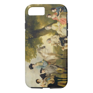 The Drummond Family, c.1769 (oil on canvas) iPhone 8/7 Case