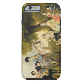 The Drummond Family, c.1769 (oil on canvas) Tough iPhone 6 Case