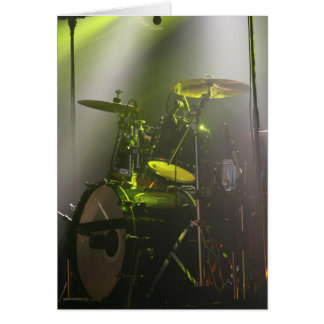 The Drums Card